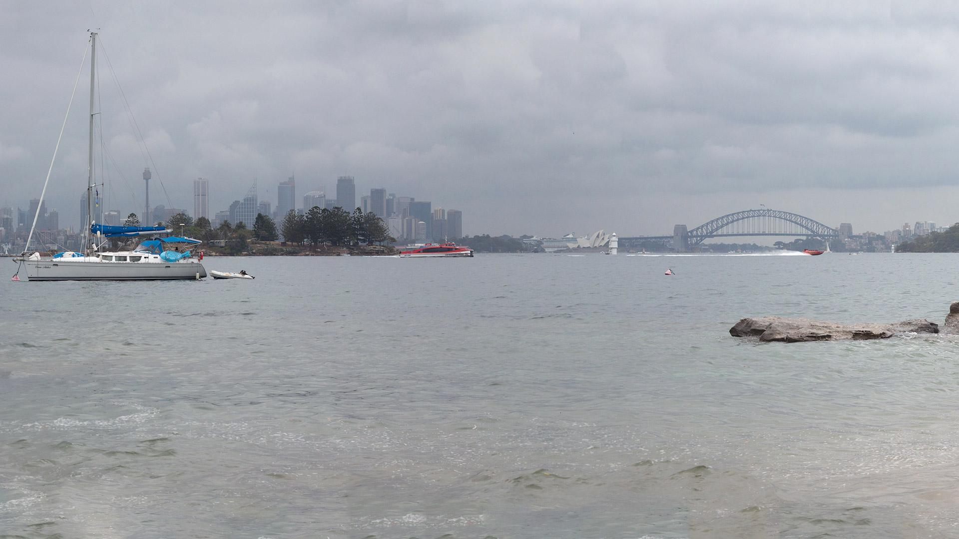 Sydney harbour Lunch